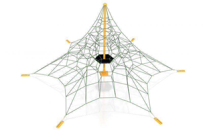 6 leg climbing net 1010 A6